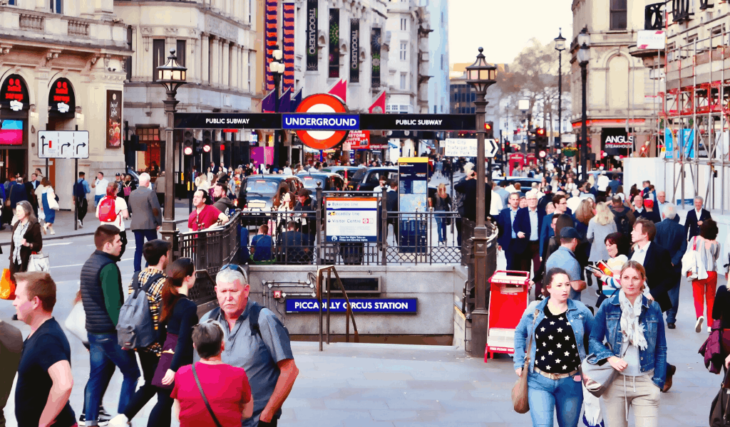 Roteiro Londres - Piccadilly Circus