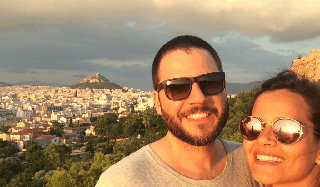 sunset Atenas