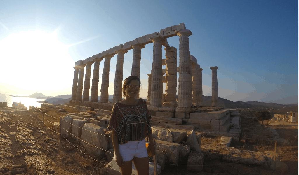 O que fazer em Atenas - Templo de Poseidon